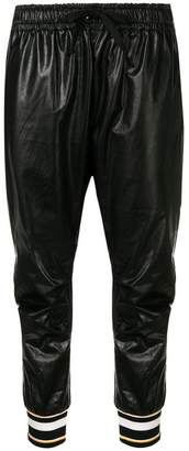Faith Connexion varnished track pants