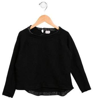 Morley Girls' Long Sleeve High-Low Sweater