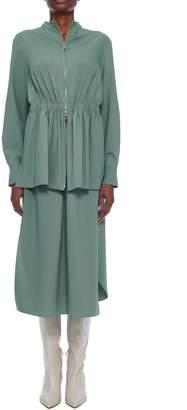 Tibi Double Layer Plainweave Dress