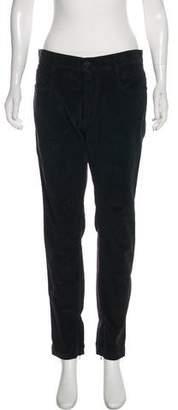 Dolce & Gabbana Mid-Rise Corduroy Pants