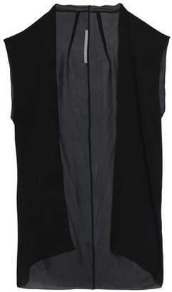 Rick Owens Silk-Crepe Vest