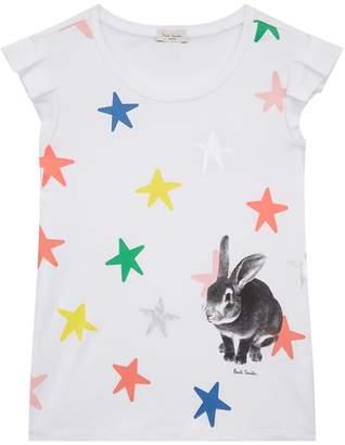 Paul Smith Ruby Star andBunny PrintT-shirt
