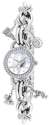 Game Time Women's Charm College Series' Quartz Metal and Alloy Casual Watch
