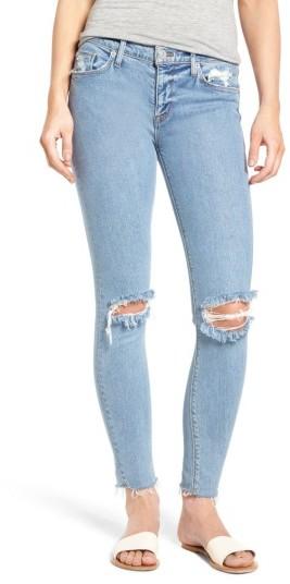 Women's Hudson Jeans Nico Raw Hem Ankle Super Skinny Jeans