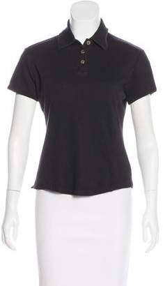 St. John Sport Short Sleeve Polo Top