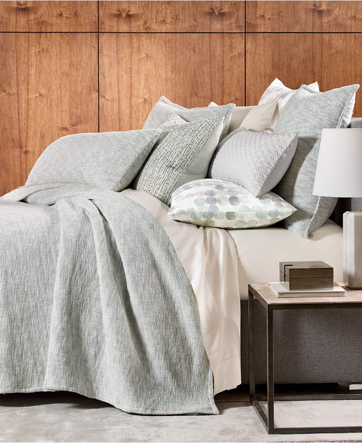 Hotel Collection Seaglass Cotton Full/Queen Coverlet, Created for Macy's Bedding