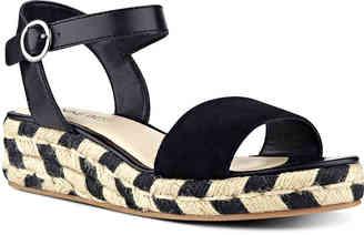 Women's Allum Wedge Sandal -Black $68.95 thestylecure.com
