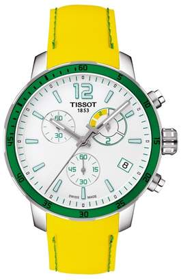 Tissot Men's Quickster Chronograph Football Sport Watch, 40mm