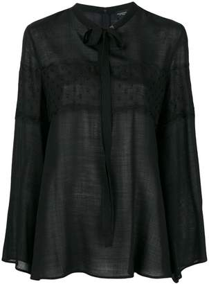 Giambattista Valli chest lace blouse