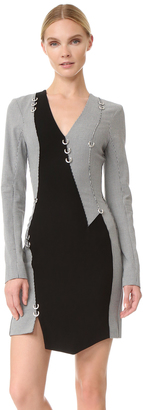 Mugler Long Sleeve Dress $2,115 thestylecure.com