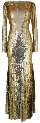Amen sequinned evening dress