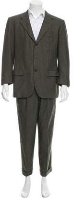 Kiton Cashmere Houndstooth Suit