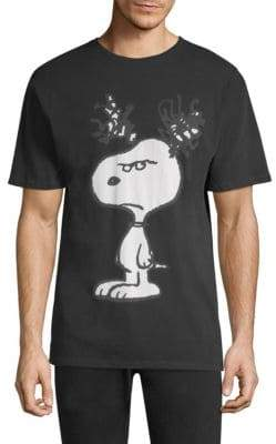 Eleven Paris Angry Snoopy Cotton Tee