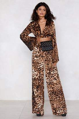Nasty Gal Paw-lease Leopard Pants