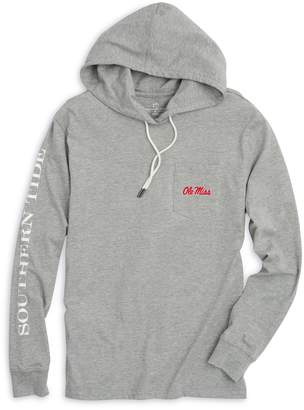 Southern Tide Gameday Hoodie T-shirt - University of Mississippi