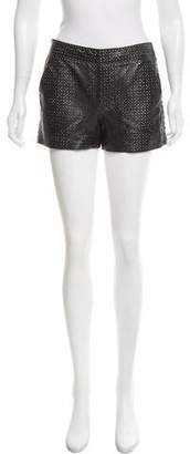 Marc by Marc Jacobs Laser Cut Leather Shorts w/ Tags