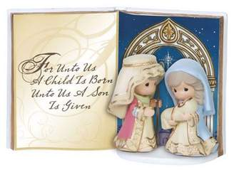 Precious Moments Holy Family Tabletop Book Resin Figurine 151408