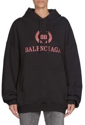 Balenciaga Logo Hoodie
