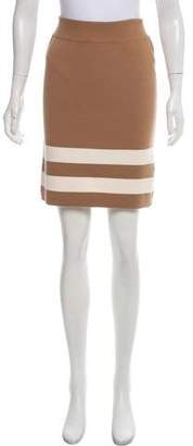 Edun Striped Wool Skirt