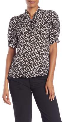 Cynthia Steffe CeCe by Mayfair Ditsy Floral Blouse