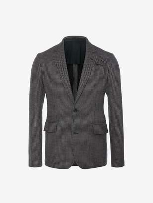 Alexander McQueen Dogtooth Deconstructed Jacket
