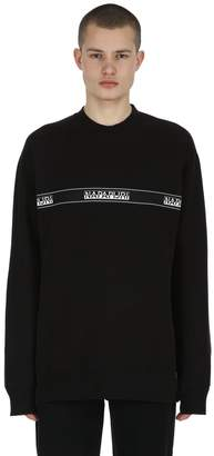 Napapijri Buena Cotton Blend Sweatshirt