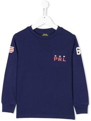 Ralph Lauren Kids American flag sweatshirt
