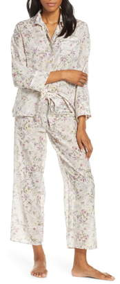 Papinelle Emmy Musk Cotton & Silk Pajamas