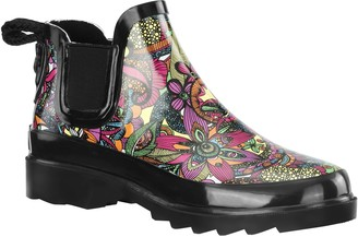 The Sak Sakroots Rubber Rain Booties - Rhyme