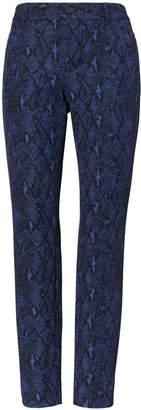 Banana Republic Petite Sloan Skinny-Fit Snake-Print Pant