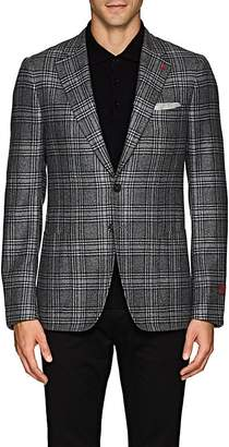 Isaia Men's Cortina Plaid Cashmere Two-Button Sportcoat