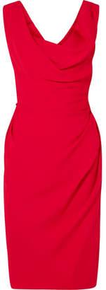 Vivienne Westwood Draped Crepe Dress - Red