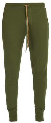 Paul Smith Slim Leg Cotton Pyjama Trousers - Mens - Green