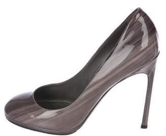 Saint Laurent Patent Leather High-Heel Pumps
