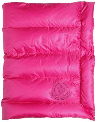 Moncler Nylon & Cotton Down Blanket