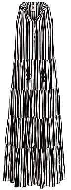 Figue Women's Bohemian Rhapsody Betty Stripe Maxi Dress