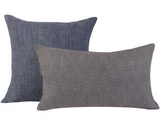 Huddleson Linens Japanese Cotton Shibori Pillows