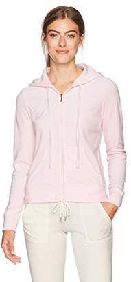 Juicy Couture Black Label Women's Velour Robertson Hoodie Jacket