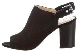 MICHAEL Michael Kors Slingback Suede Sandals