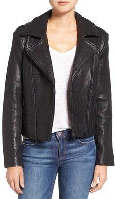 Women's Joe's 'Rene' Leather Moto Jacket $795 thestylecure.com