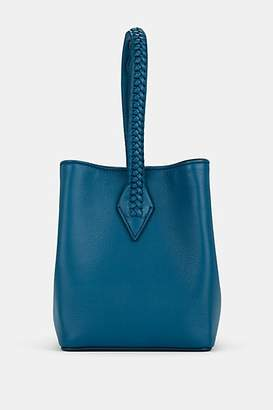 Métier London Women's Perriand Mini Leather Bucket Bag - Blue