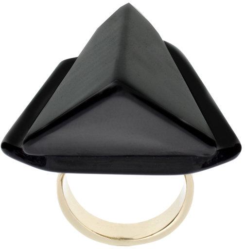 Asos Statement Angular Cocktail Ring