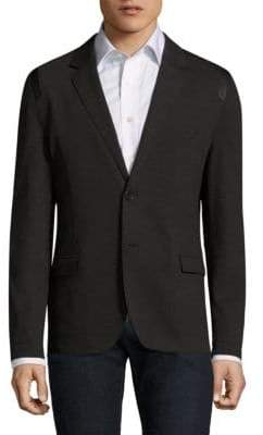 HUGO BOSS Alton Slim-Fit Button-Front Blazer