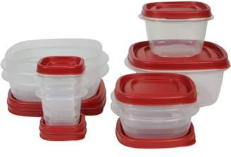 Rubbermaid Food Storage Containers with Easy Find Lids, 18-Piece Set