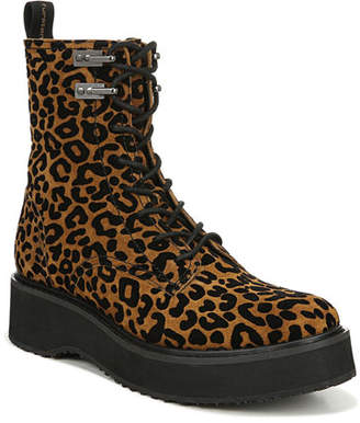 Diane von Furstenberg In Charge Leopard Boots