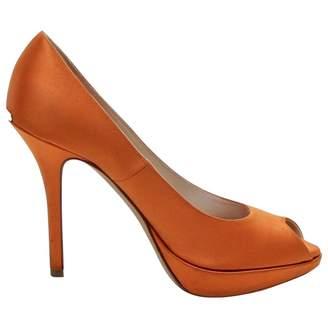Christian Dior Orange Heels