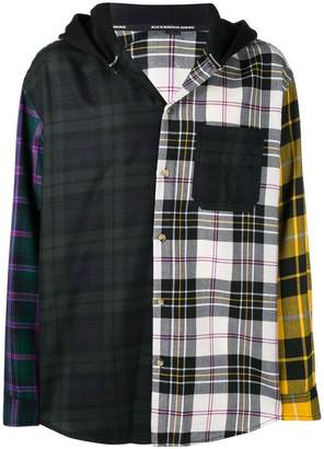 Alexander Wang (アレキサンダー ワン) - Alexander Wang patchwork shirt jacket