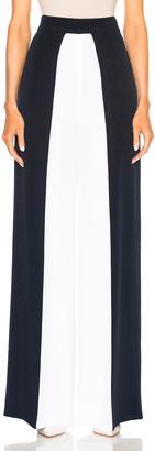 Cushnie et Ochs Color Blocked High Waisted Wide Leg Silk Pant $1,095 thestylecure.com