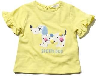 M&Co Pom pom dog print t-shirt