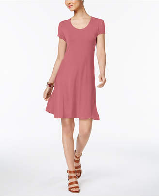 Style&Co. Style & Co Petite Short-Sleeve A-Line Dress, Created for Macy's
